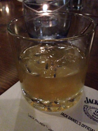 "The ""JD Tea"" cocktail"
